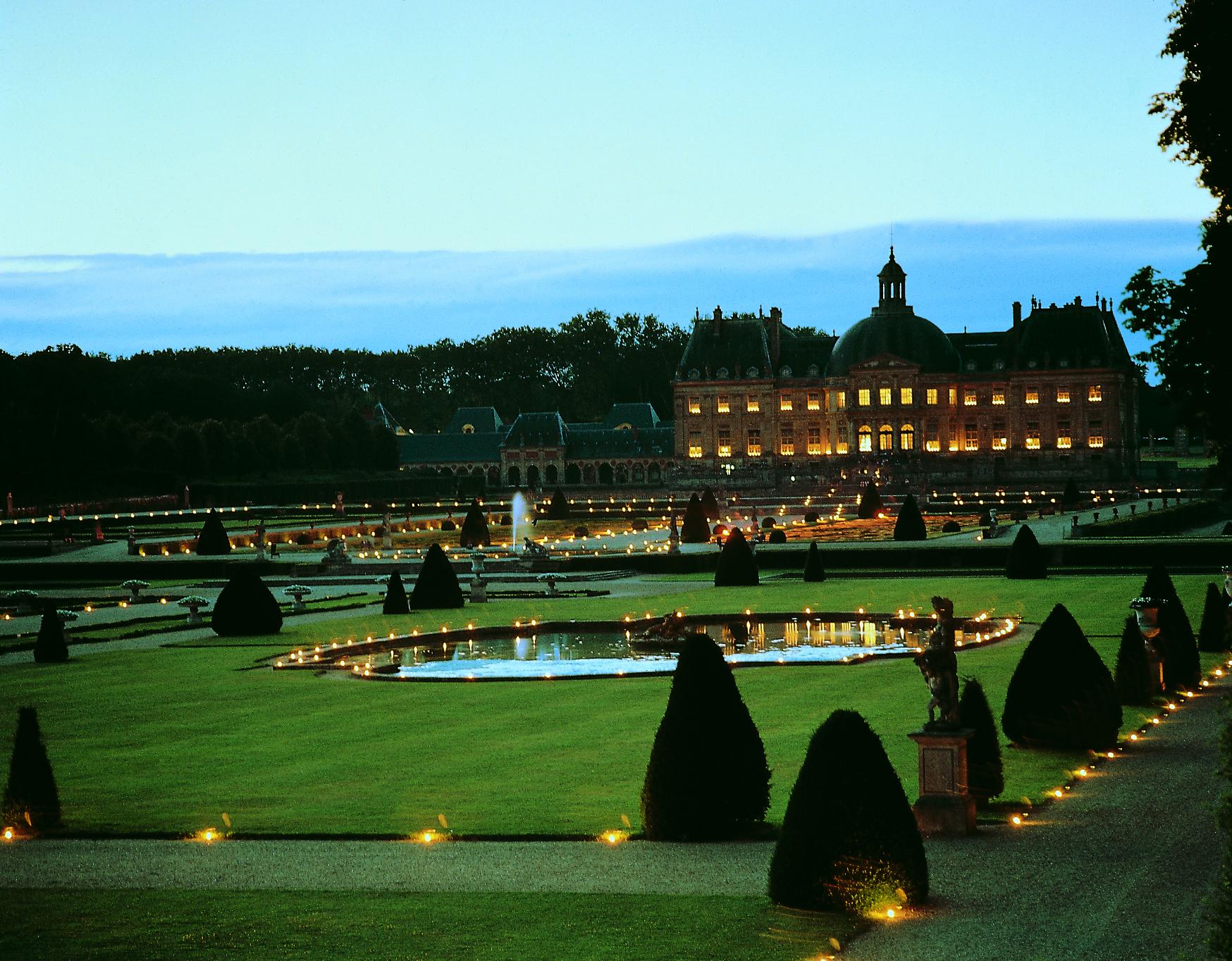 Parc du ch teau de vaux le vicomte le site officiel du for Le jardin hivernal du off paris seine