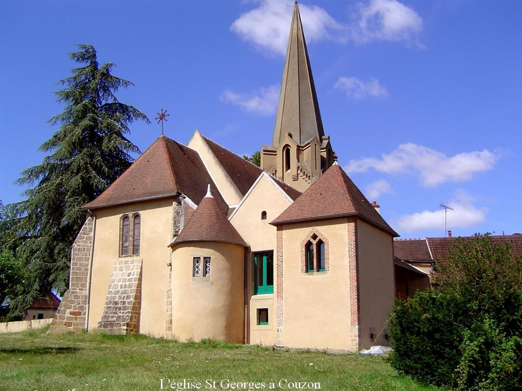 Eglise Saint-Georges - Couzon Ⓒ Eglise Saint-Georges - Couzon 2014