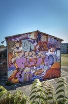 ZESO2 Ⓒ Street art city à Lurcy-Lévis