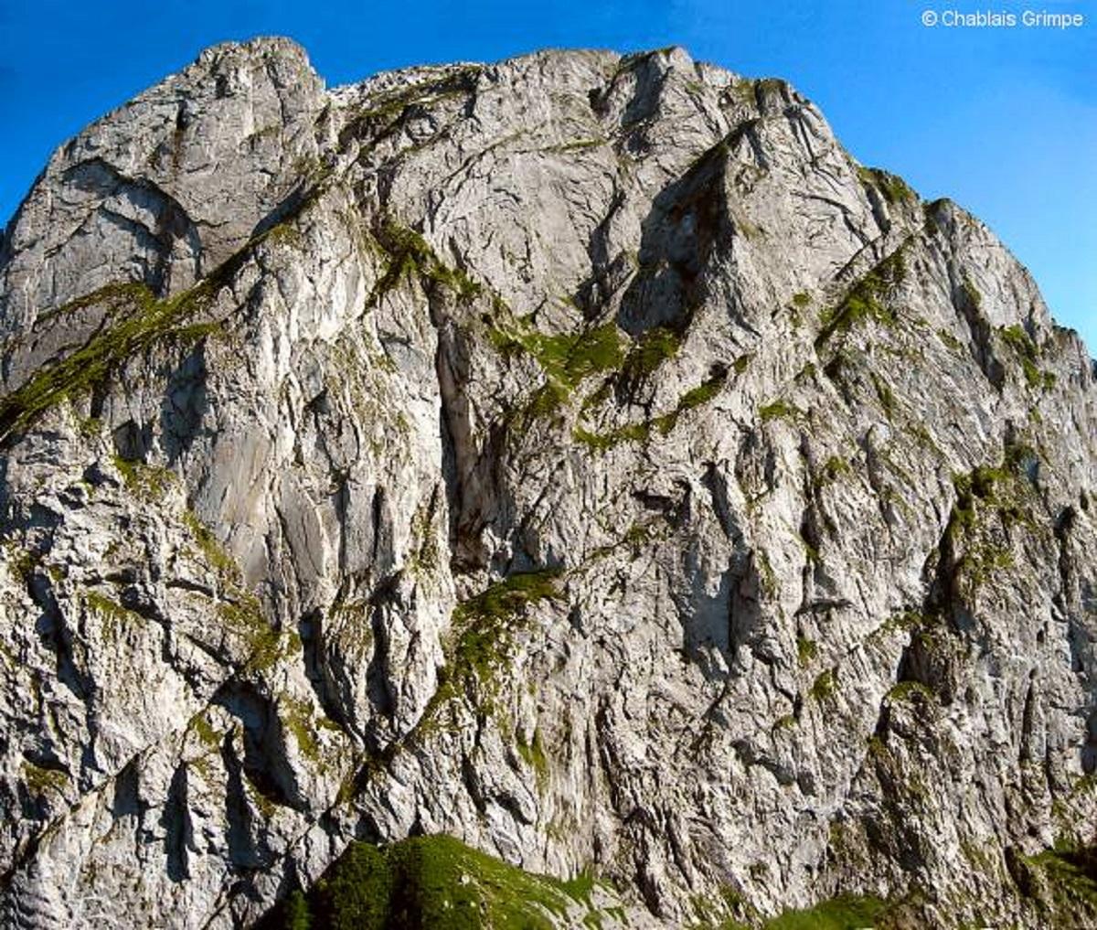 Climbing site - Le Mont Chauffé