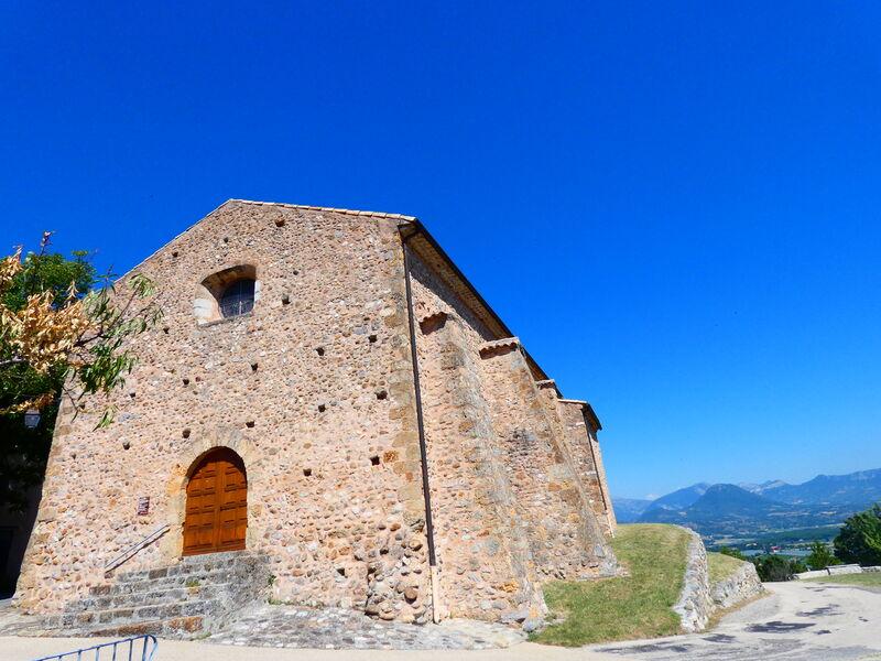 Village perché d'Upaix - © Office de Tourisme Sisteron Buëch