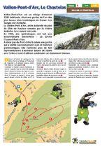 Randoland | Vallon Pont d'Arc, le Chastelas - Vallon-Pont-d'Arc