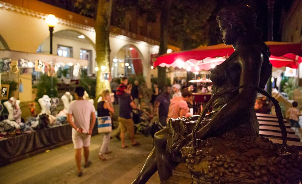 Marché nocturne de Vals-les-Bains - Vals-les-Bains