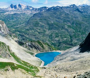 itinérance refuge lac