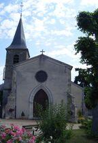 Église St-Gérand et St-Julien Eglise Ⓒ Mairie St-Gérand-de-Vaux