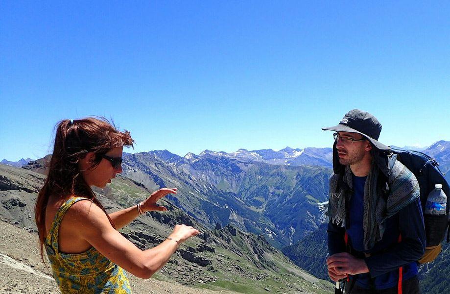 Céline Desmet - Accompagnatrice en montagne - © Céline Desmet