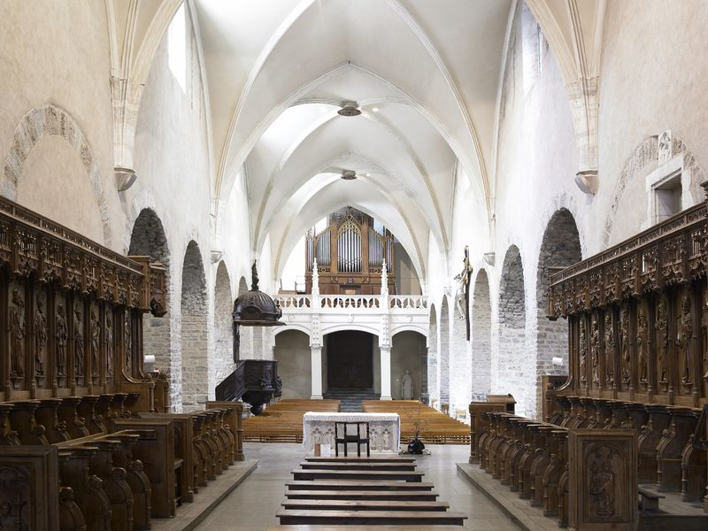 Intérieur cathédrale - Crédit photo Caméléon photographie (Laurent Berthier) - 002
