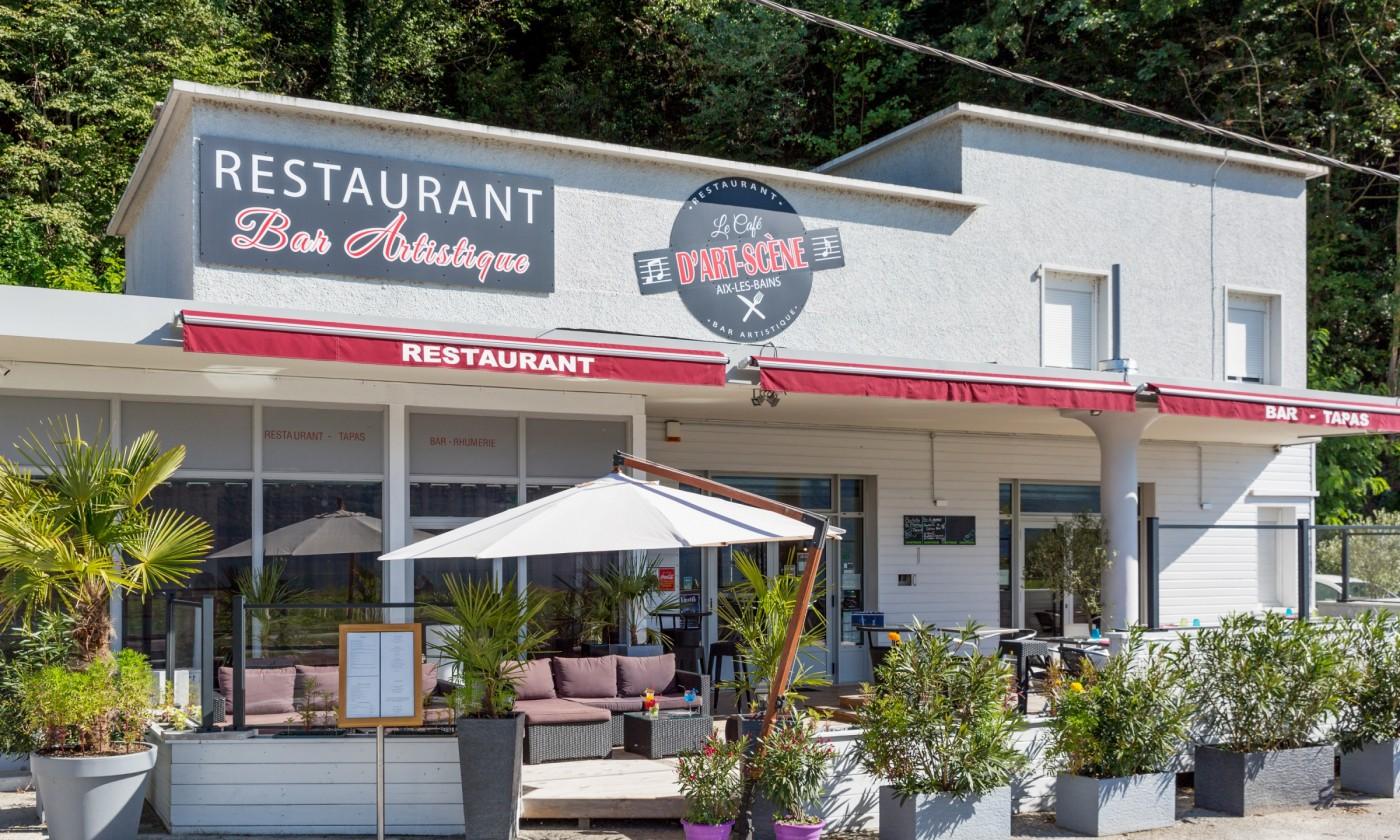 Le Cafe D Art Scene Aix Les Bains Riviera Des Alpes