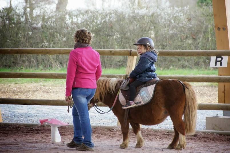 Domaine équestre d'Écyla Accueil enfants à partir de 2 ans Ⓒ Écyla