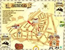 Découverte ludique d'Aubenas : la carte au trésor - Aubenas