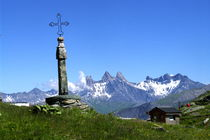 Col de la Croix de Fer à Saint Sorlin d'Arves - Domaine des Sybelles