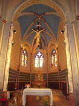 Eglise Saint-Victor Choeur Ⓒ Mairie Saint-Victor