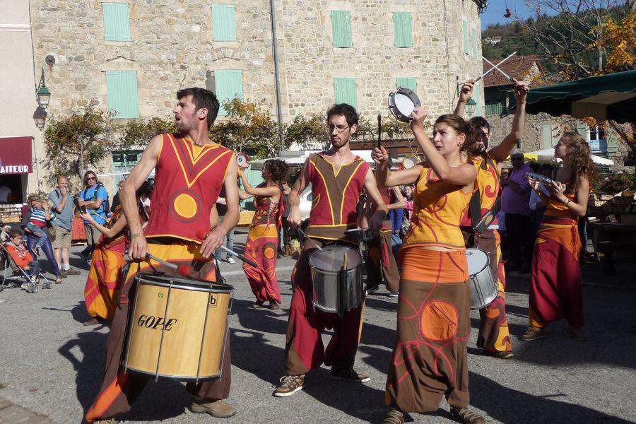 20 ans des castagnades d'automne en Ardèche - Jaujac