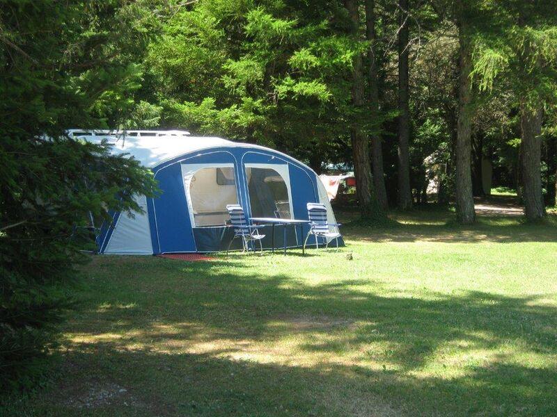Camping dans le parc