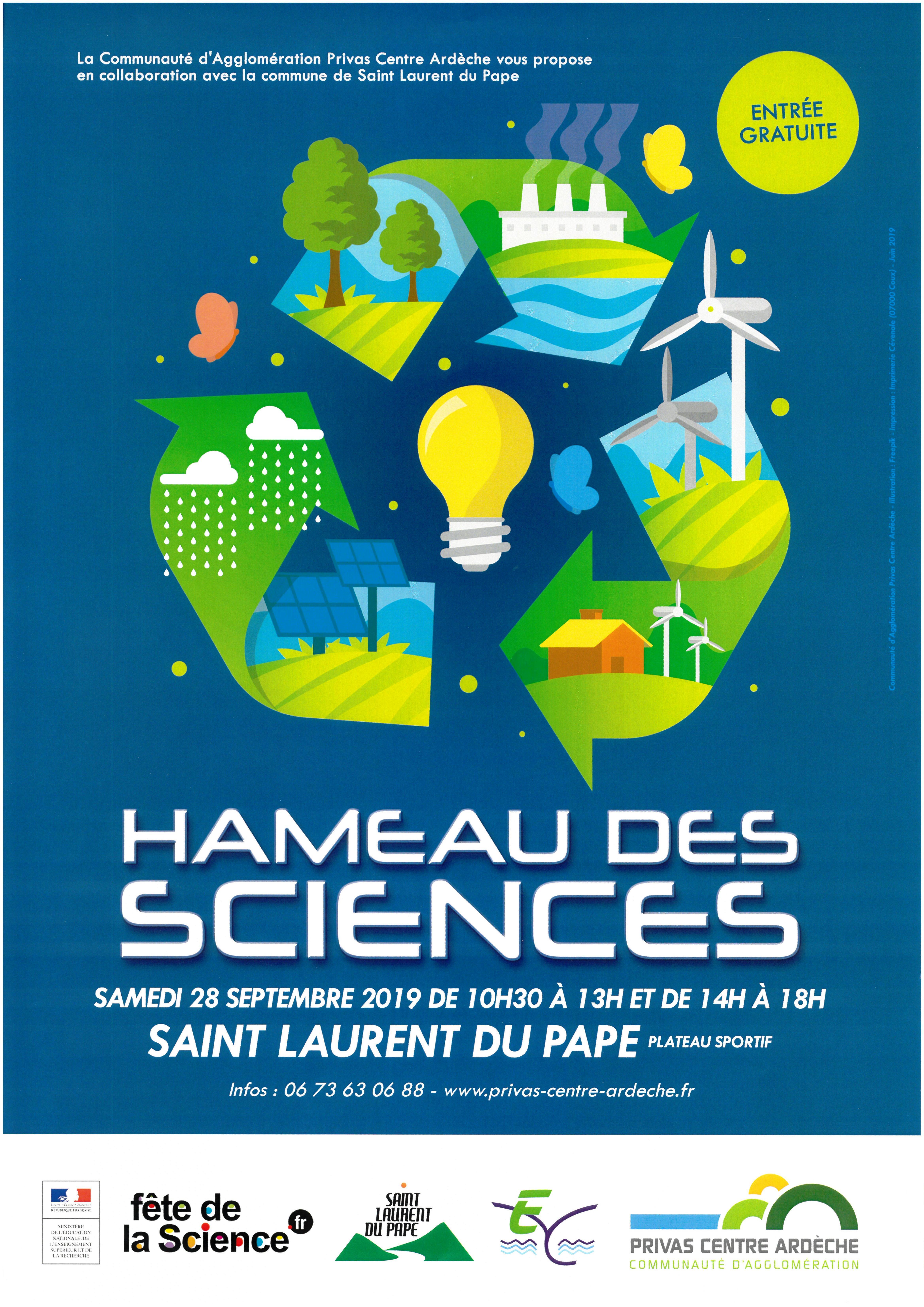 Alle leuke evenementen! : Fête de la science : Hameau des sciences (stands, animations et ateliers)