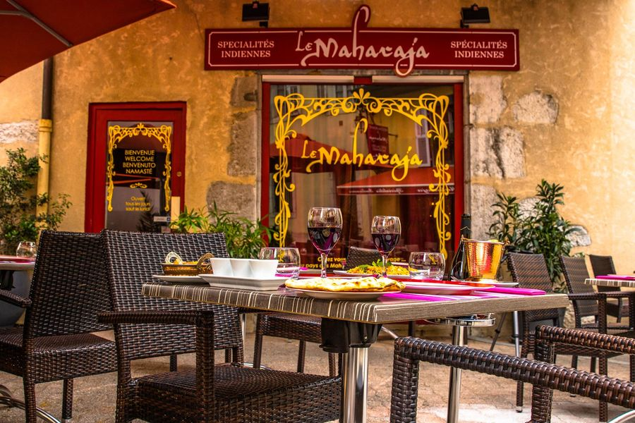 Restaurant indien Le Maharaja à Chambéry