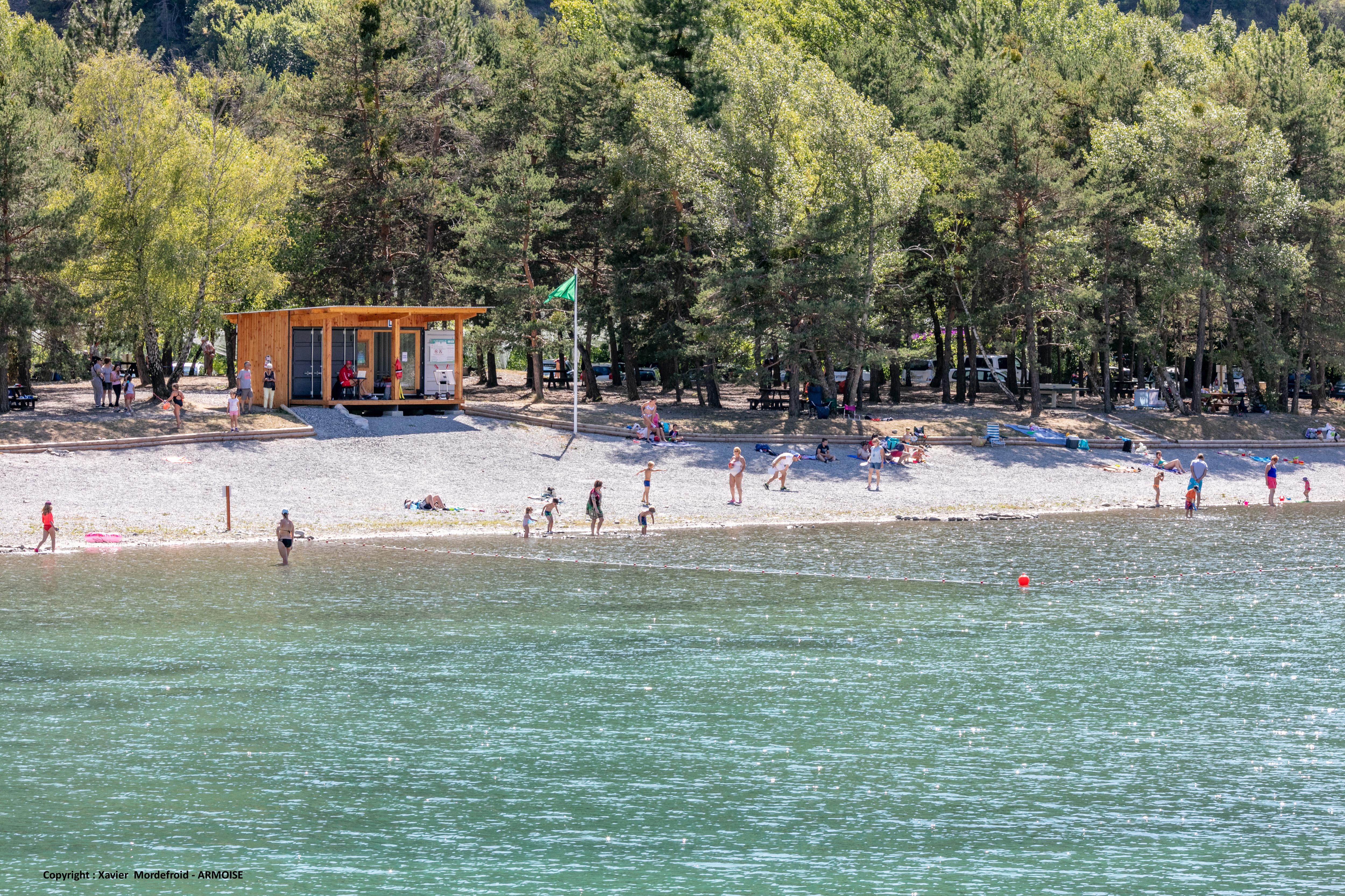 Base de loisirs Les 3 Lacs de Rochebrune & Piégut