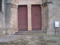 Église Saint-Gervais et Saint-Protais - Le Montet Portail Ⓒ Mairie Le Montet