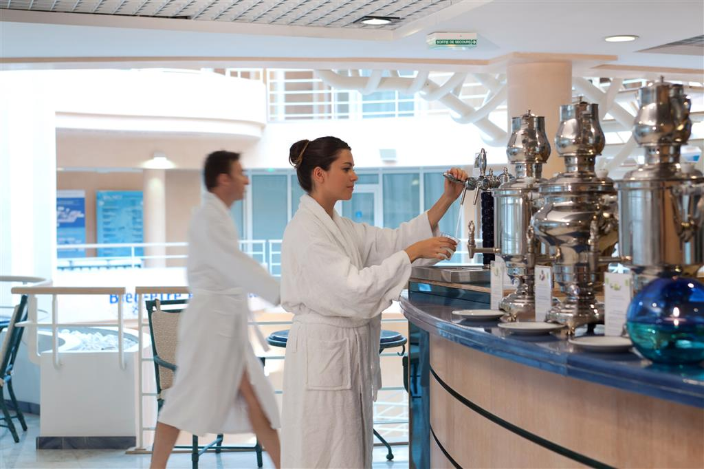 Vichy Célestins Thermal Spa Tisanerie bio & eau vichy Célestins à la pression Ⓒ Emanuela Cino