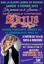 Spectacle Hypnose et soirée dansante - Laurac-en-Vivarais