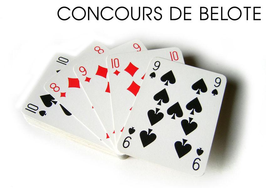 Concours de belote - Vals-les-Bains