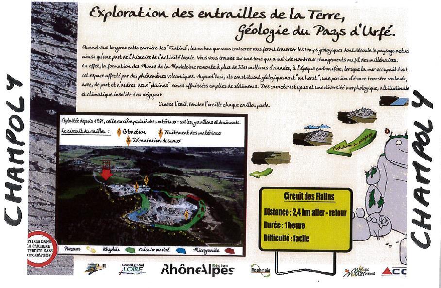Circuit des Fialins à Champoly