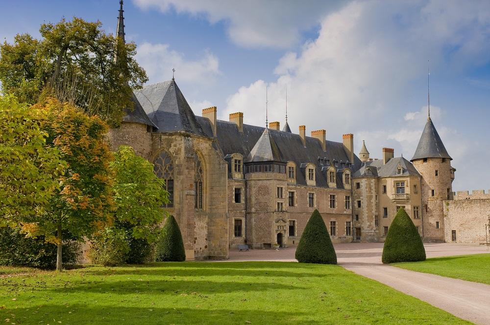 Le château de Lapalisse Ⓒ Luc OLIVIER