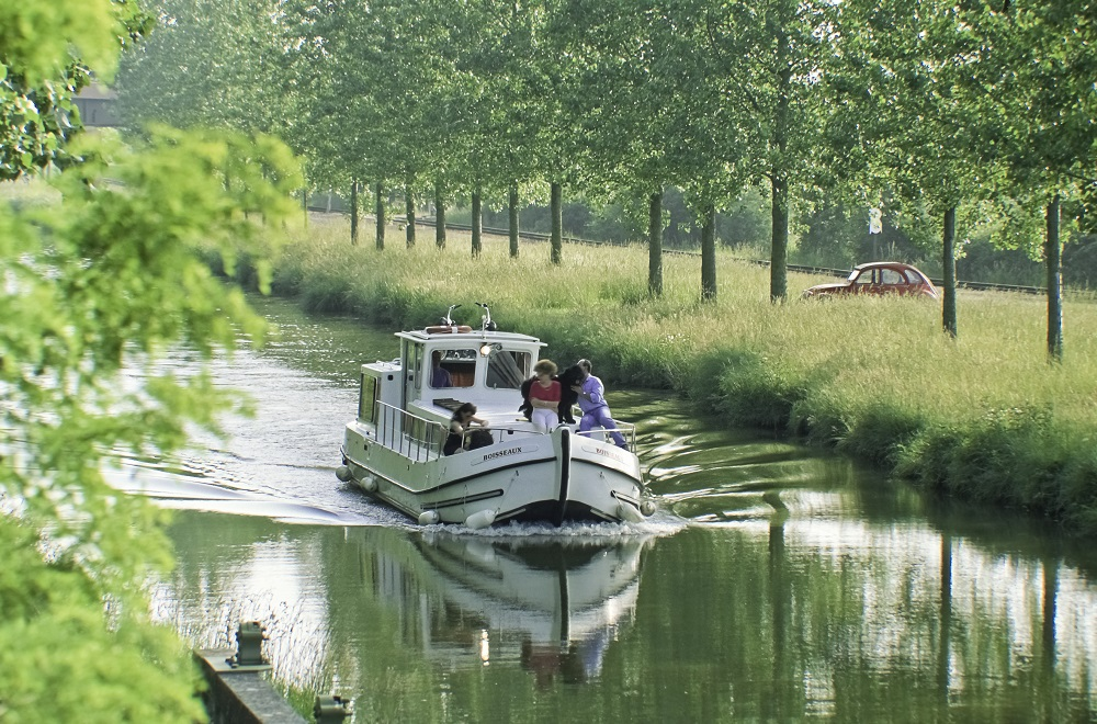 Le canal latéral à la Loire Ⓒ Luc OLIVIER