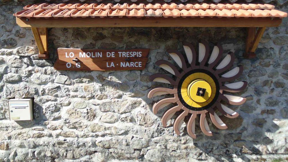 Visite du moulin de Trespis - Lanarce