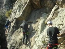 Escale verticale Via ferrata Ⓒ Escale verticale - 2015