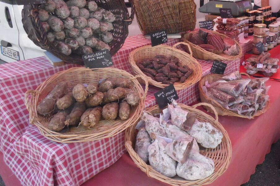 Marché hebdomadaire - Alboussière