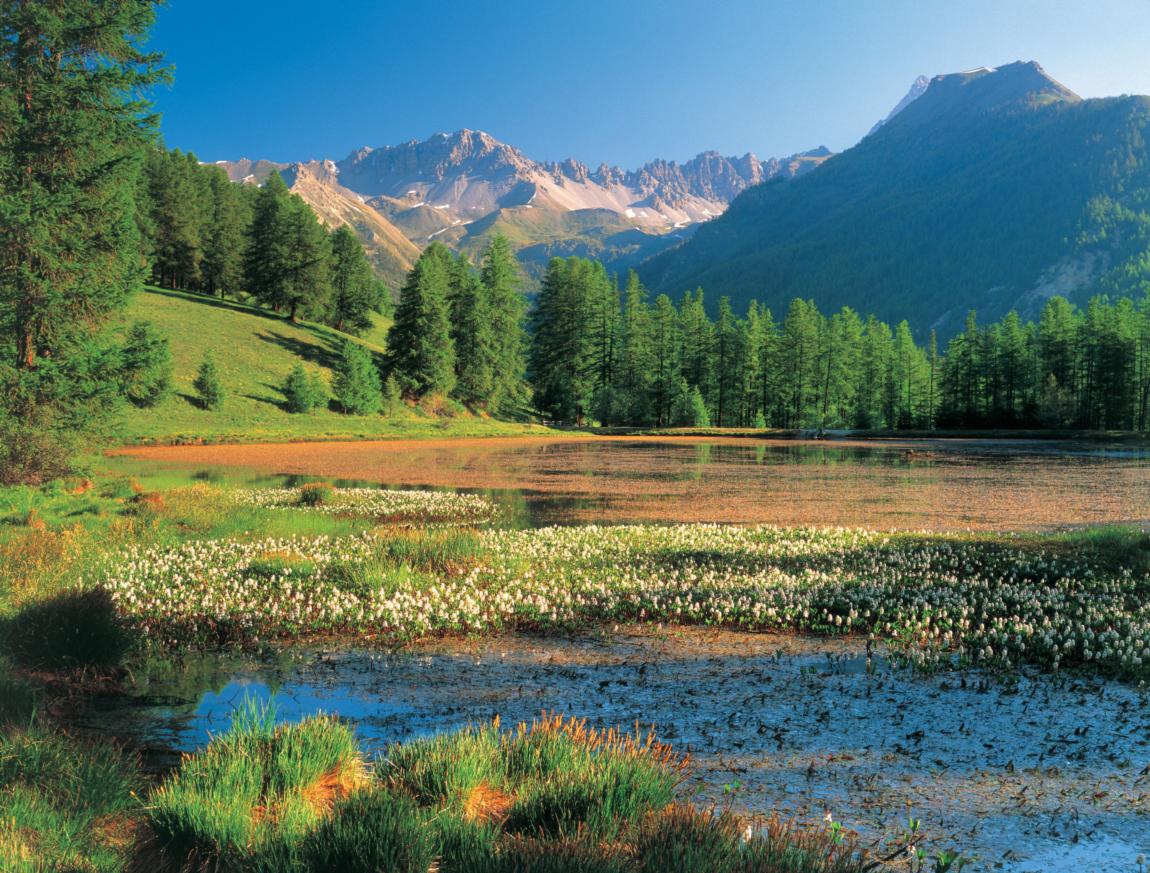 Un lac sympa accessible à tous