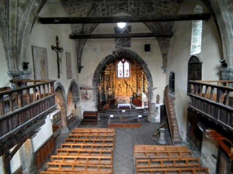 Interieur de l'Eglise Saint-Marcellin de Névache - © ©Petit-patrimoine.com
