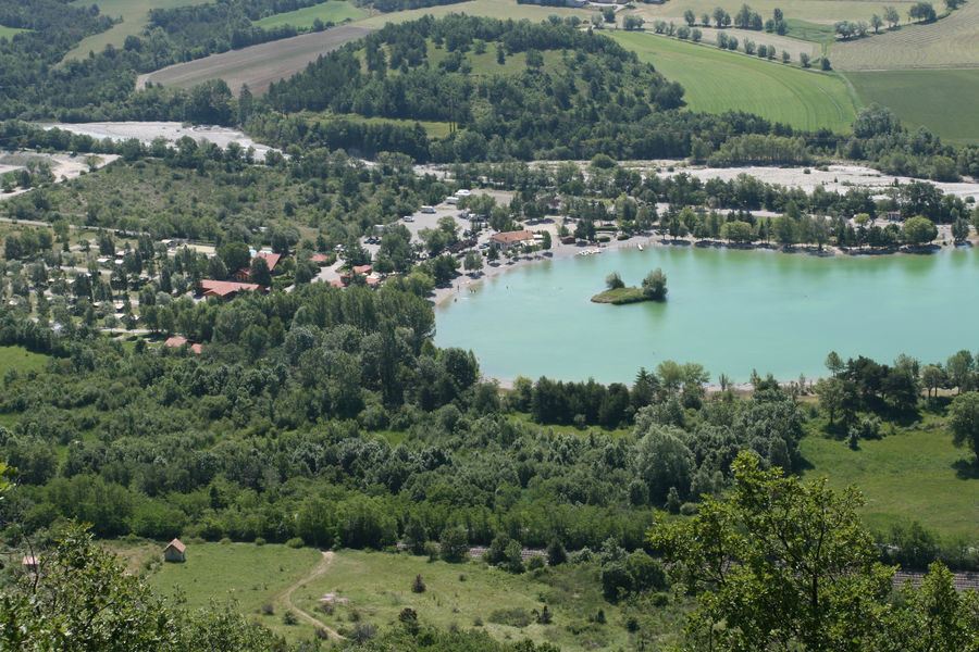 Camping 'Les Rives du Lac' à Veynes - © Camping 'Les Rives du Lac' à Veynes