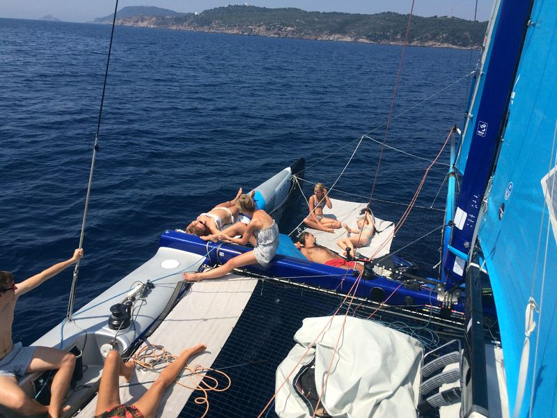 Sailing Evasion - Sorties en Catamaran