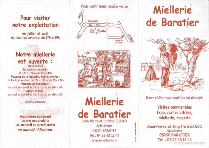 Miellerie de Baratier - © Miellerie de Baratier