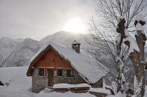 Gîte Peyou en hiver - © Giraud Moine