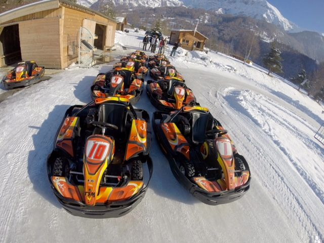 Karting sur glace - © Escallier MM