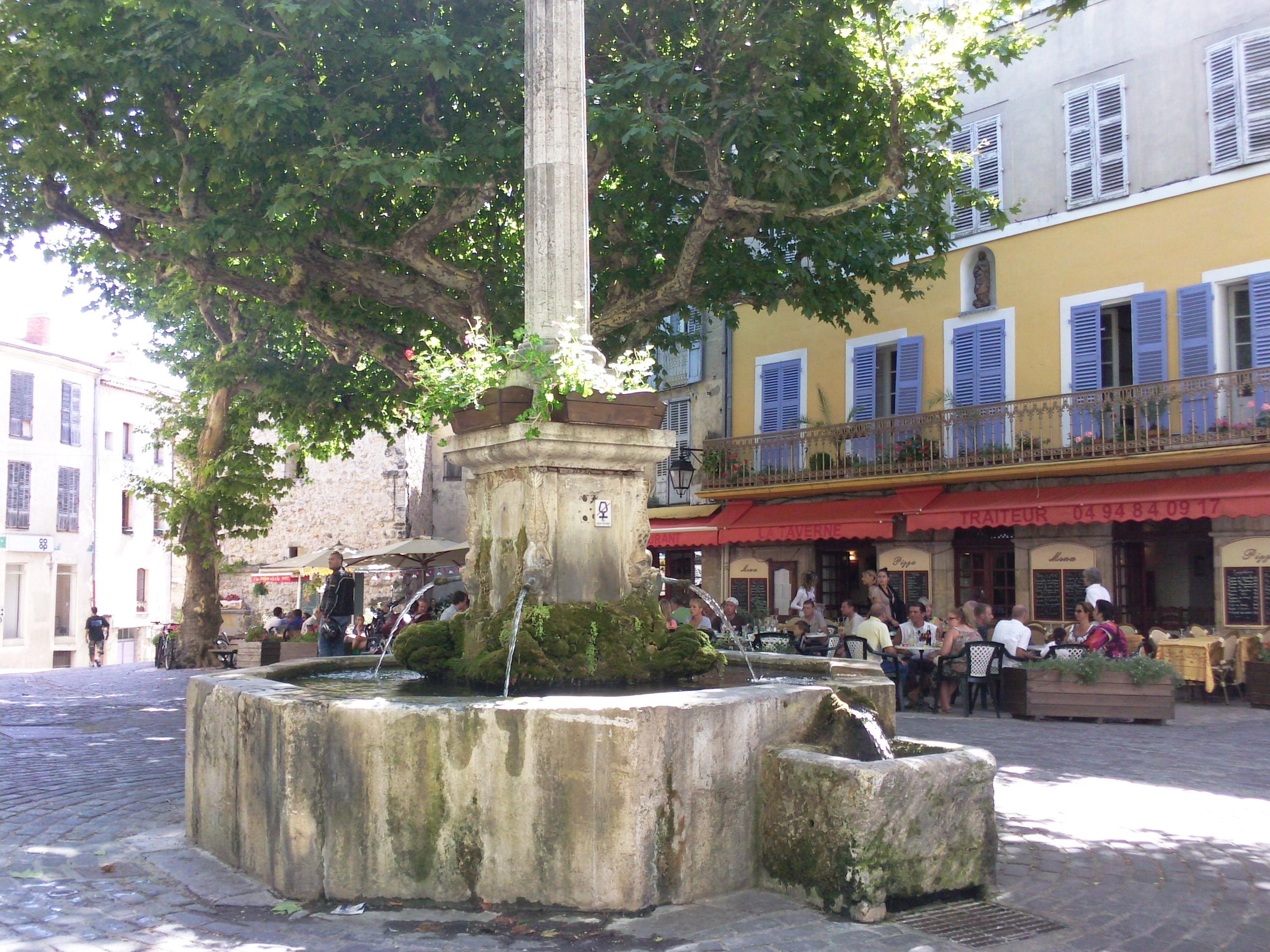 Fontaine XVIIIème