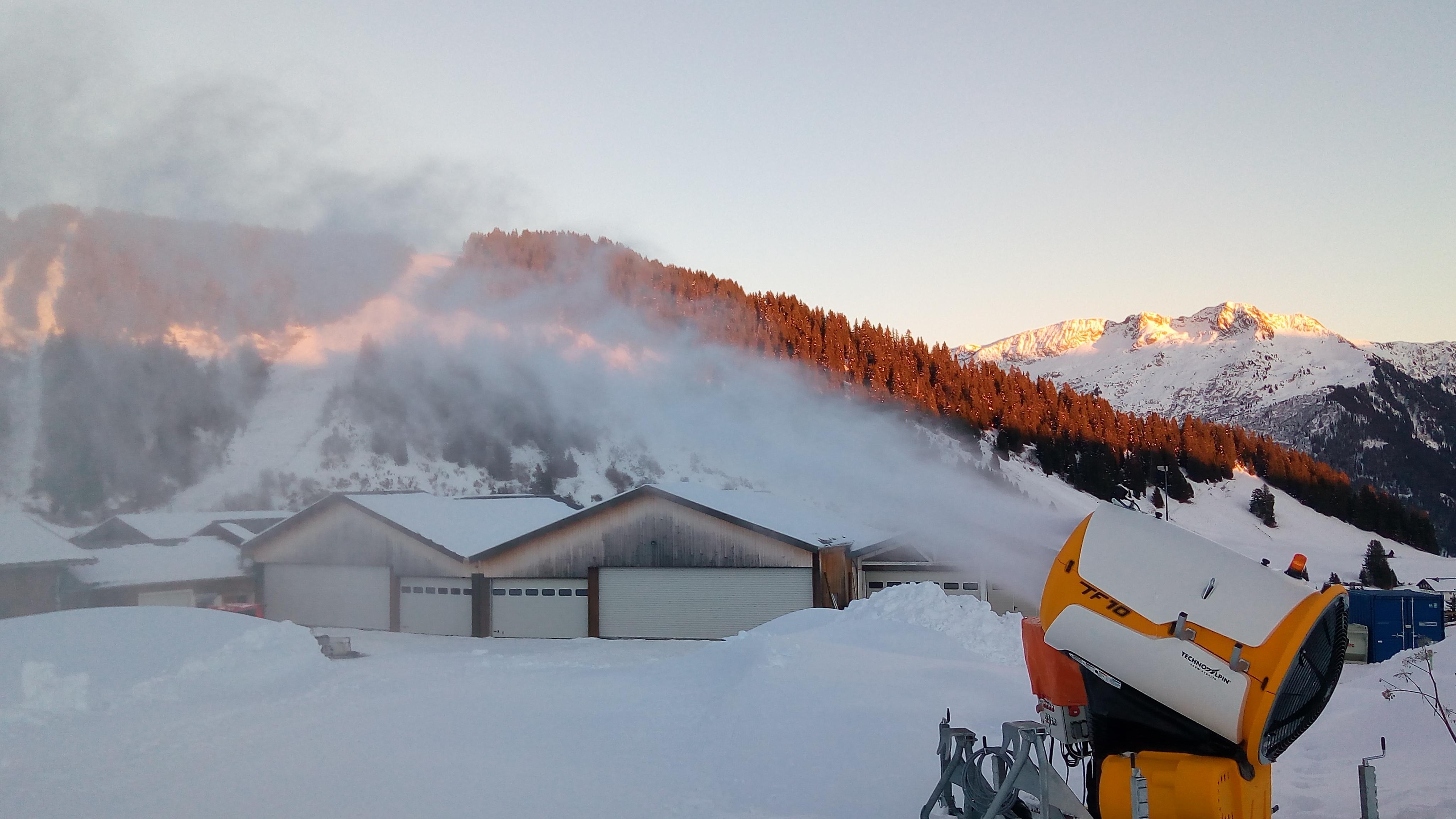 A la découverte de l'usine à neige