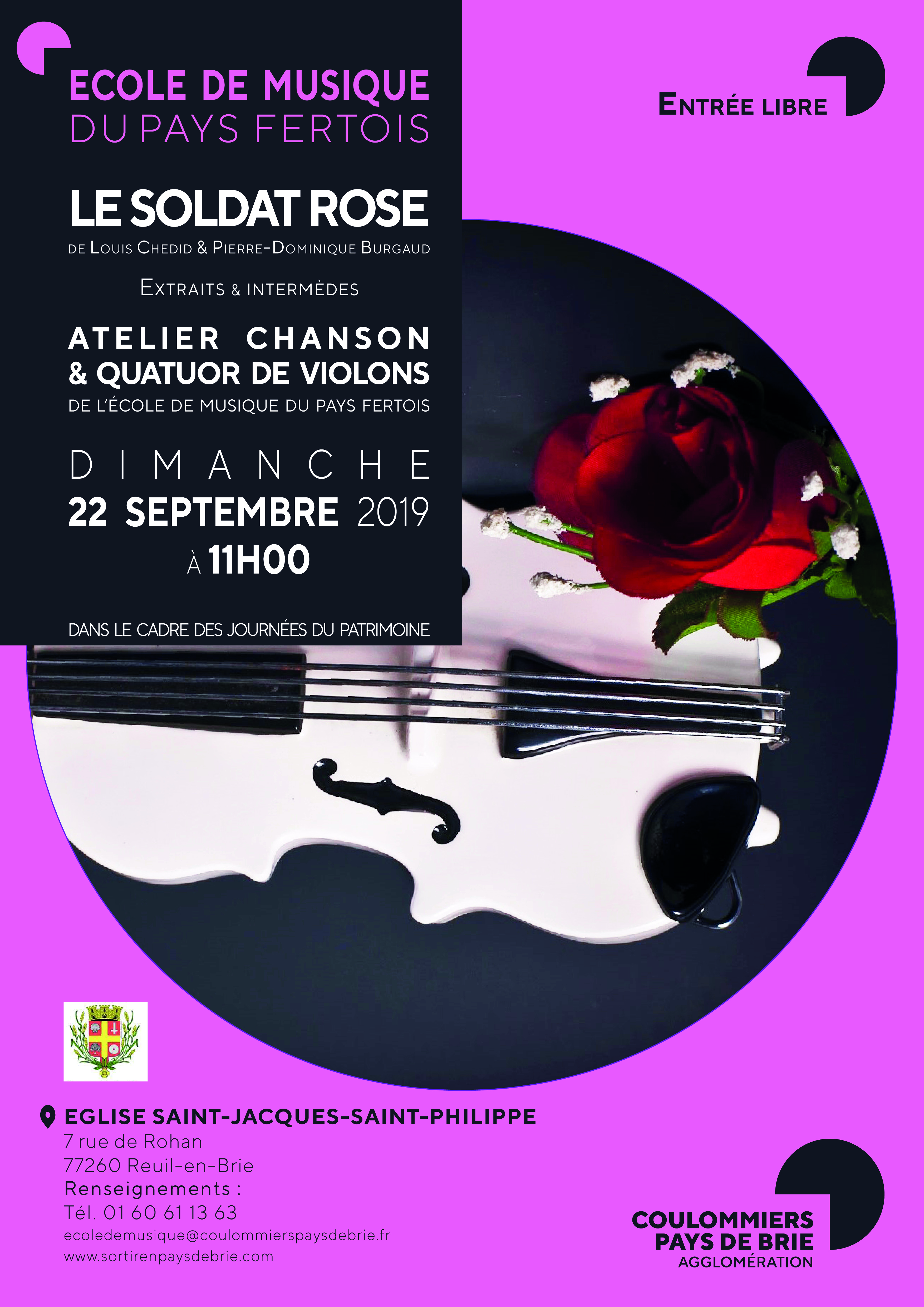 Concert Le Soldat Rose