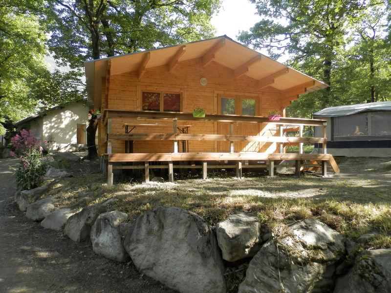 Camping le bois joli maurienne tourisme for Camping le bois joli st martin sur la chambre