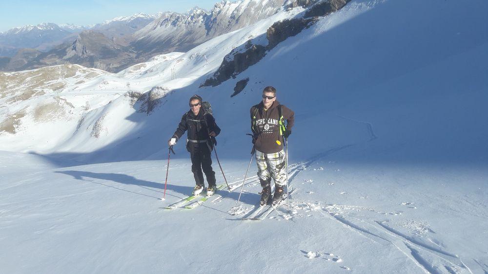 Sortie en ski de randonnée avec François Chaix, Dévoluy, Hautes-Alpes - © Francois Chaix / Véga Passion