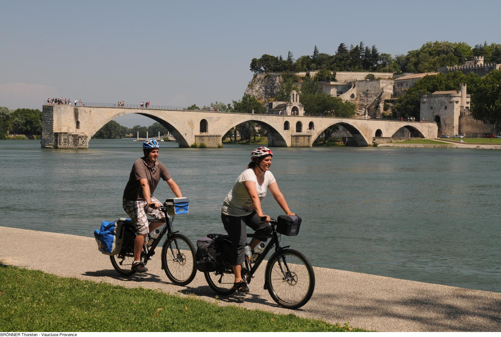 Cyclistes Avignon