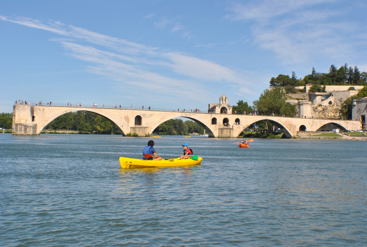 Canoë Pont d'Avignon