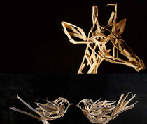 Exposition sculpture Lisa Van Baaren - Aubenas