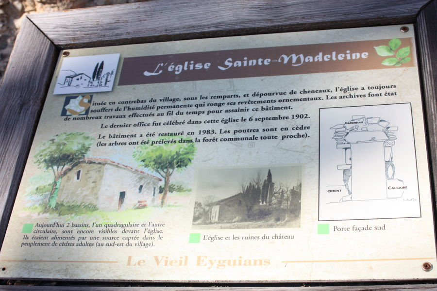 Église Sainte-Madeleine - © Office de Tourisme Sisteron Buëch