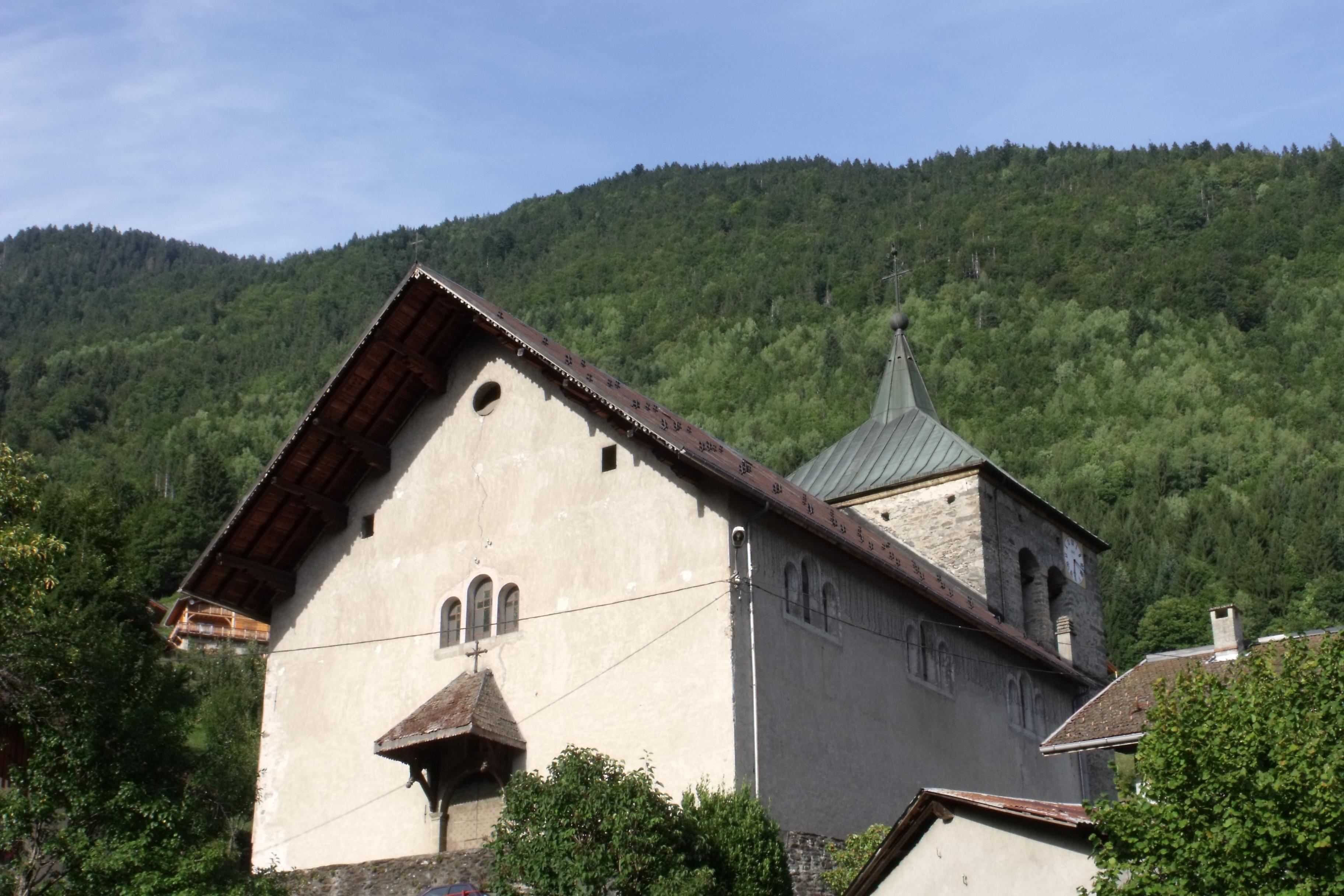 Du village à l'église Sainte-Agathe : Visite guidée