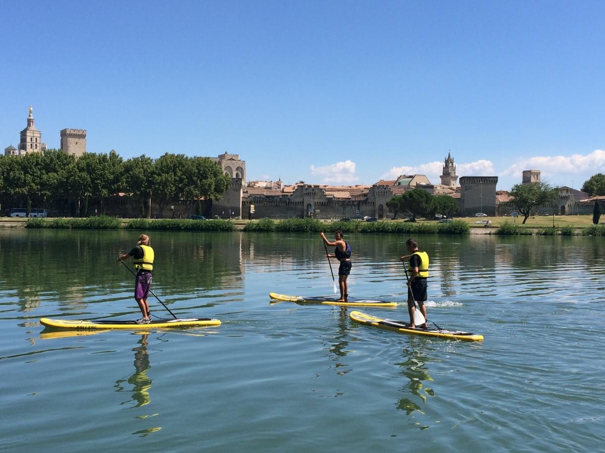 Trio de paddles