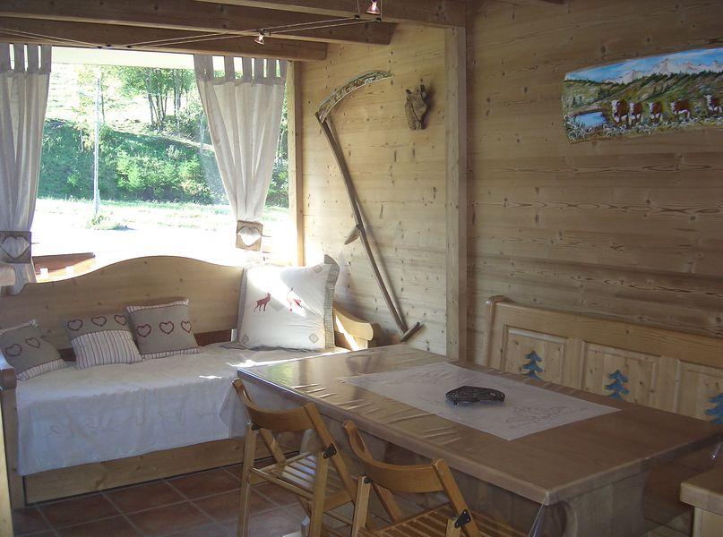 Studio cabine - Résidence Fleurs des Alpes // meublés classés en location sur le Massif des Brasses